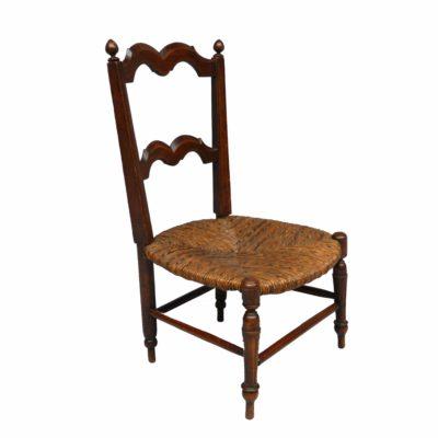 Chaise paille fin XIXe