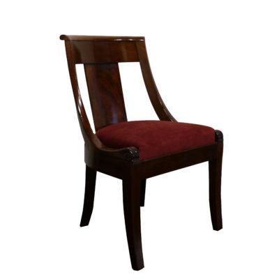 Chaise style empire fin XIXe