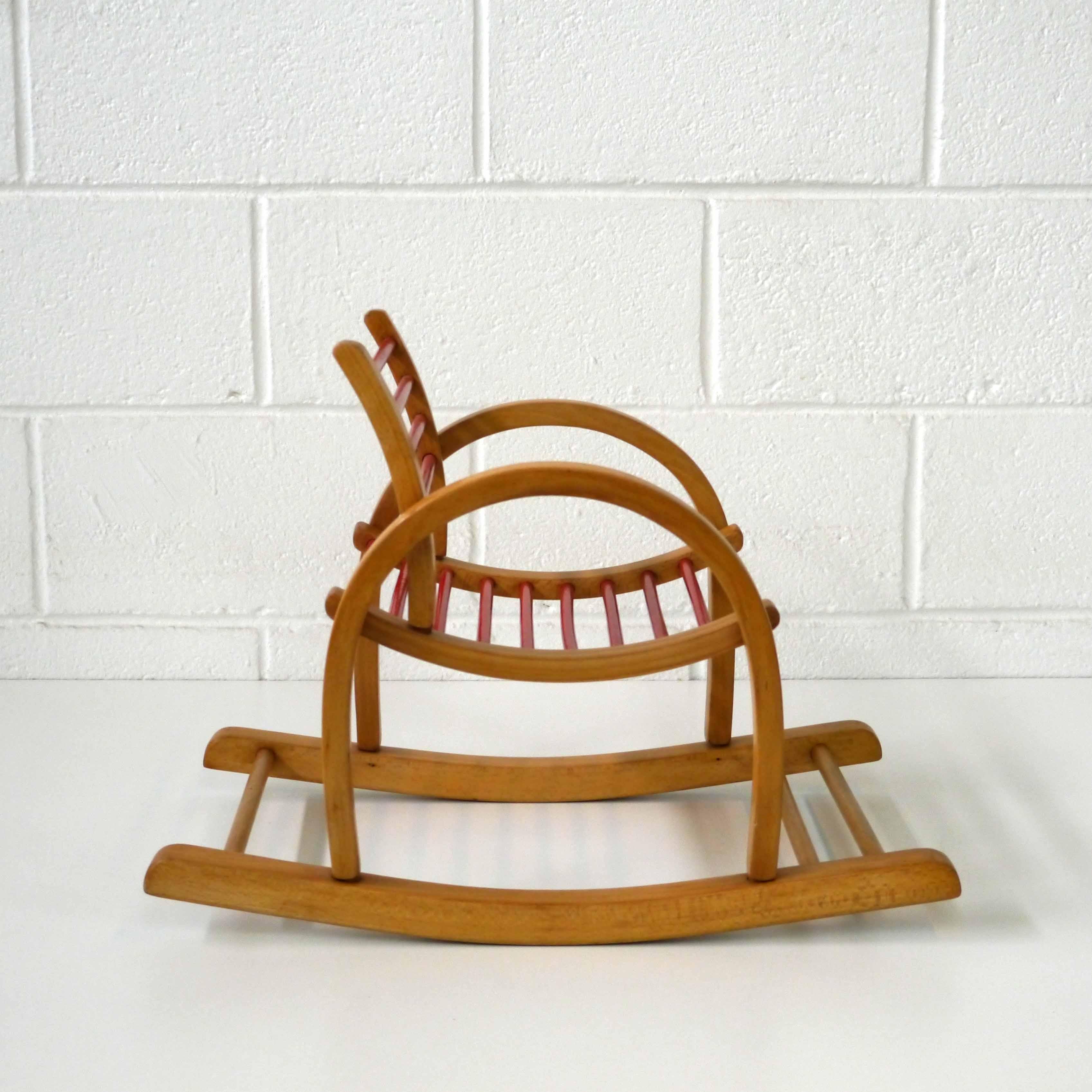 baumann rocking chair la marelle mobilier et d co. Black Bedroom Furniture Sets. Home Design Ideas