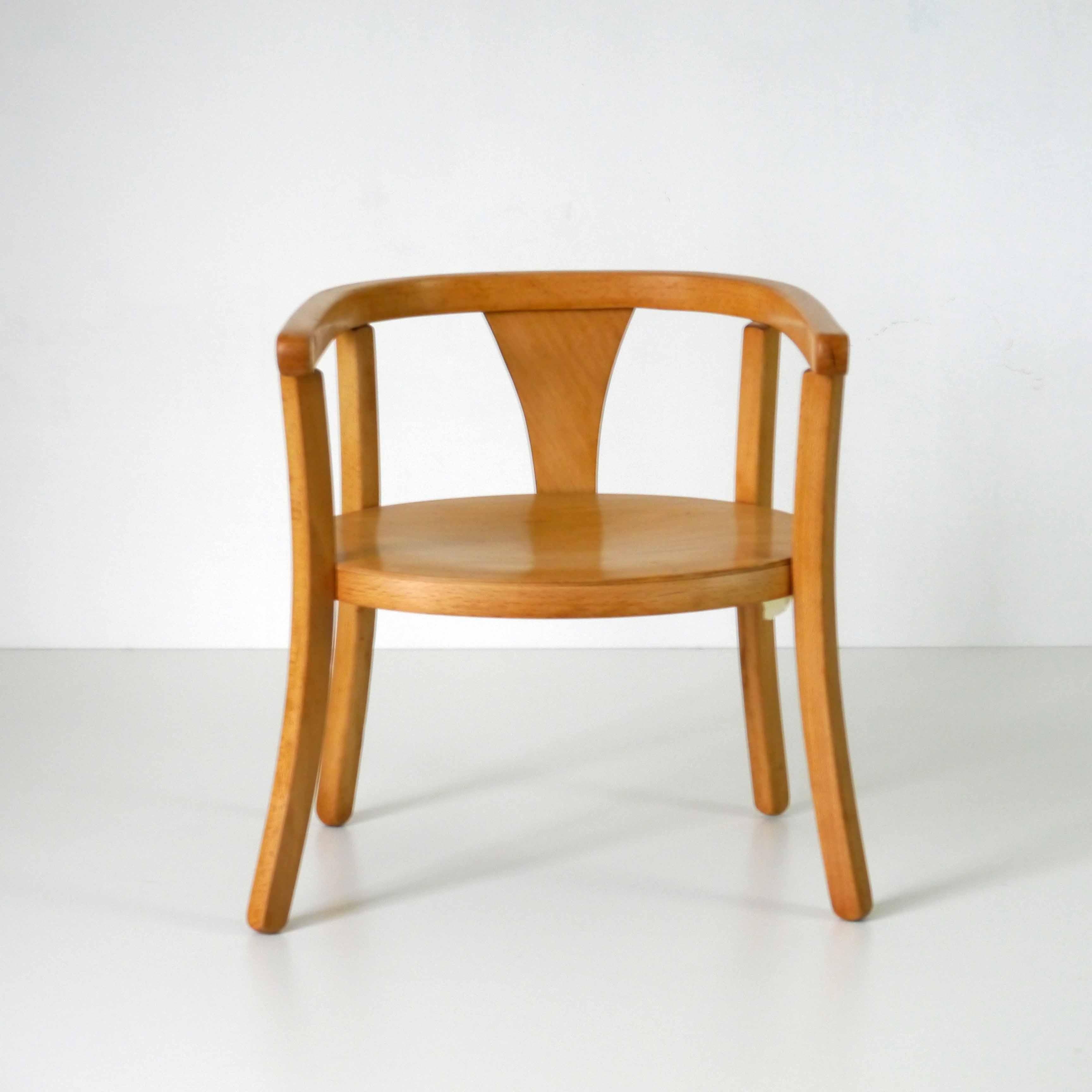 baumann chaise enfant la marelle mobilier vintage pour enfants